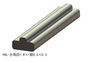 方背凸1.8×1筋0.6×0.3