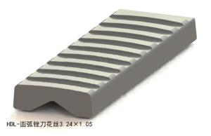 圆弧锉刀花丝3.24×1.05