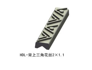 背上三角花丝2×1.1