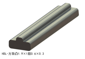 方背凸1.9×1筋0.6×0.3
